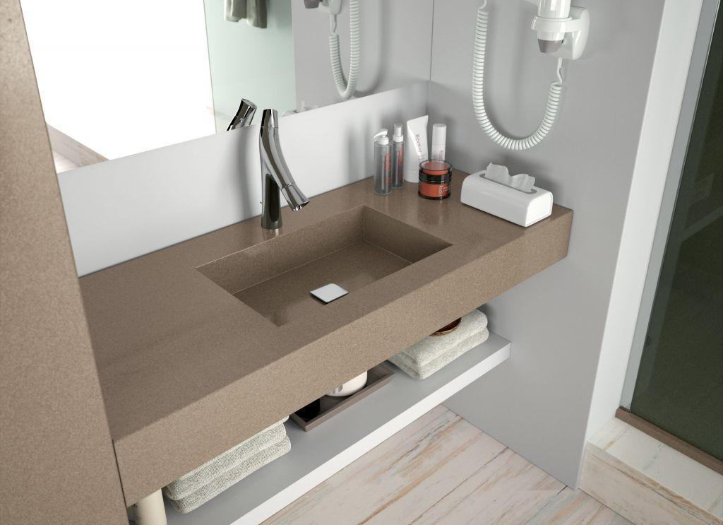 Granite Hotel Bathroom